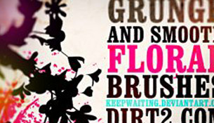 Photoshop Brushes free flower